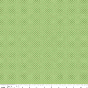 Kisses Tone on Tone Green Yardage for RBD- C210 - PRICE PER 1/2 YARD