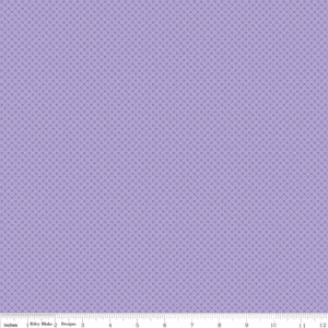 Kisses Tone on Tone Lilac Yardage by Doodlebug Designs for RBD-C210 LILAC - PRICE PER 1/2 YARD