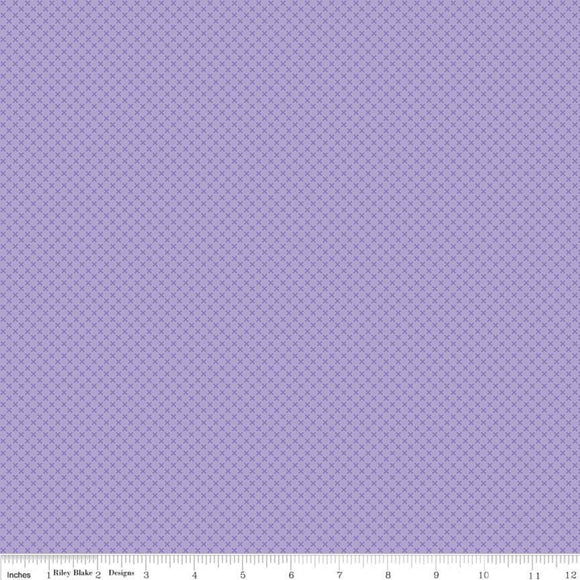 Kisses Tone on Tone Lilac Yardage for RBD-C210 LILAC - PRICE PER 1/2 YARD