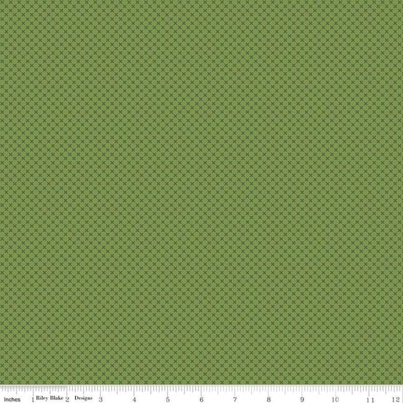 Kisses Tone on Tone Treetop Yardage for RBD- C210 - PRICE PER 1/2 YARD