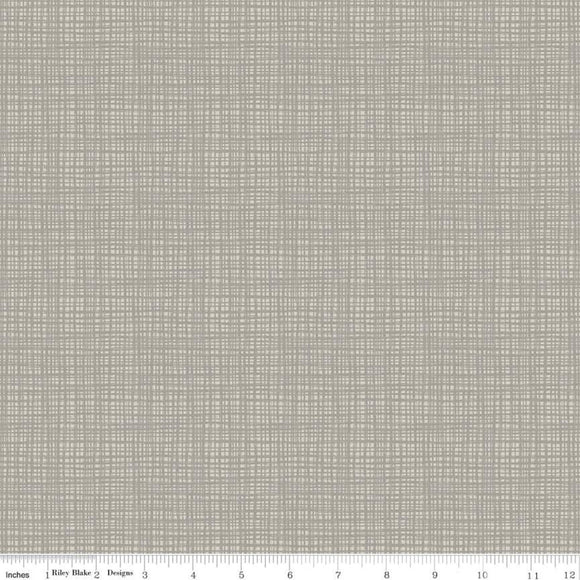 Texture Slate Yardage by Sandy Gervais for Riley Blake Designs-C610 - PRICE PER 1/2 YARD