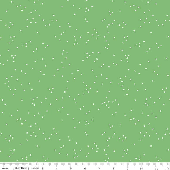 Blossoms Greensmoothie Yardage for RBD C715 - PRICE PER 1/2 YARD