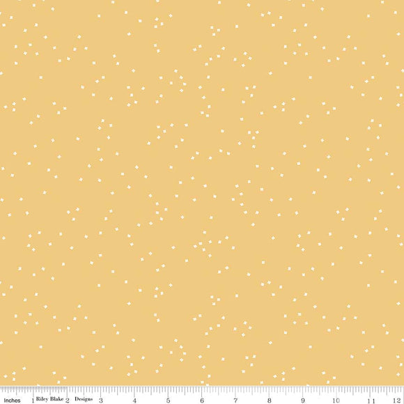 Blossoms Honey Yardage by Christopher Thompson for RBD C715 - PRICE PER 1/2 YARD