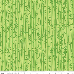 Tarzanimals Vine Green RBD -C8243 - PRICE PER 1/2 YARD