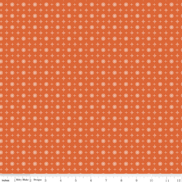 Prim Vintage Autumn Yardage by Lori Holt for RBD-C9706 AUTUMN - PRICE PER 1/2 YARD