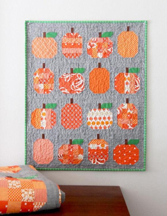 Pumpkin Quilt MINI Pattern by Cluck Cluck Sew