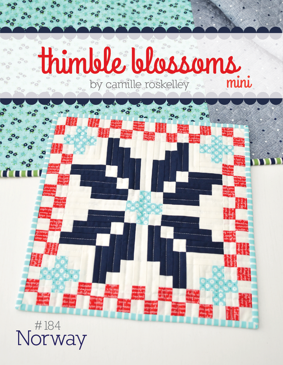 Norway Quilt MINI Pattern by Thimble Blossoms