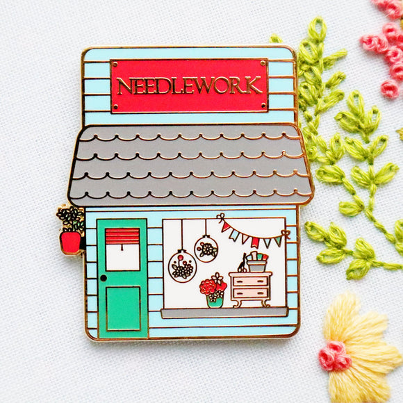 Needlework Shop Main Street Magnetic Needle Minder