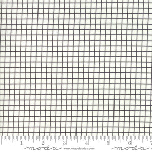 Ruby Star Society Grid White Yardage by Moda -RS3005 13 - PRICE PER 1/2 YARD