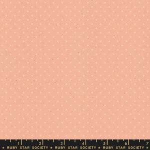 Ruby Star Society Add It Up Peach Yardage by Moda -RS4005 31 - PRICE PER 1/2 YARD