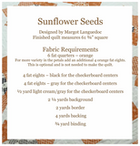 Sunflower Seeds Pillow Kit