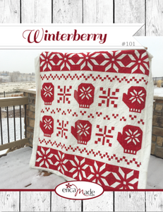 Winterberry Pattern by Erica Made Designs, LLC