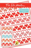 Fair Isle Hearts Quilt Kit