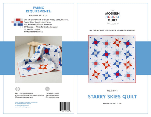 Starry Skies Quilt Pattern