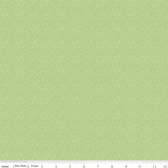 Hashtag Small Green Yardage by RBD  C110 - PRICE PER 1/2 YARD