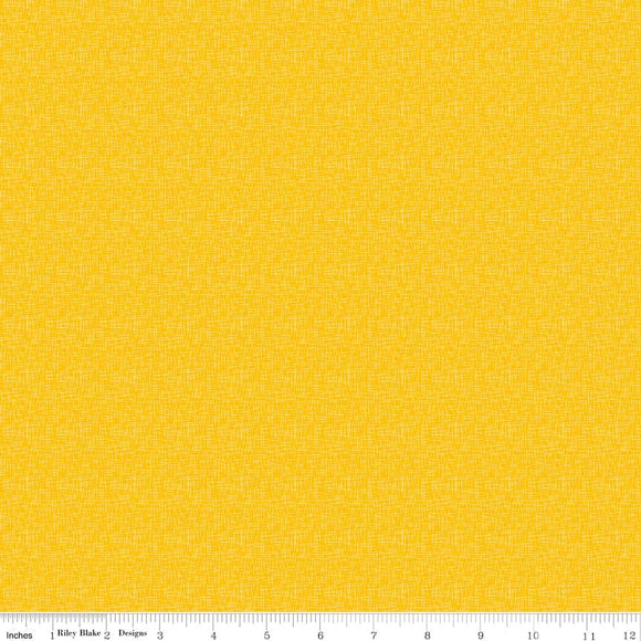 Hashtag Small Mustard Yardage by RBD for Riley Blake Designs C110 - PRICE PER 1/2 YARD