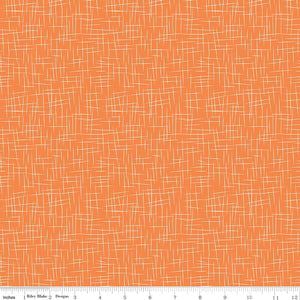 Hashtag Large Pumpkin Yardage by RBD  C115 - PRICE PER 1/2 YARD