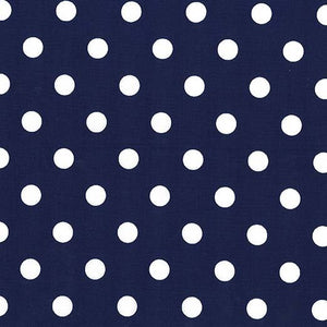 That's It Dot Navy Yardage by Michael Miller - CX2489-NAVY-D - PRICE PER 1/2 YARD