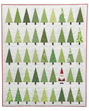 Santa in the Trees Quilt Kit