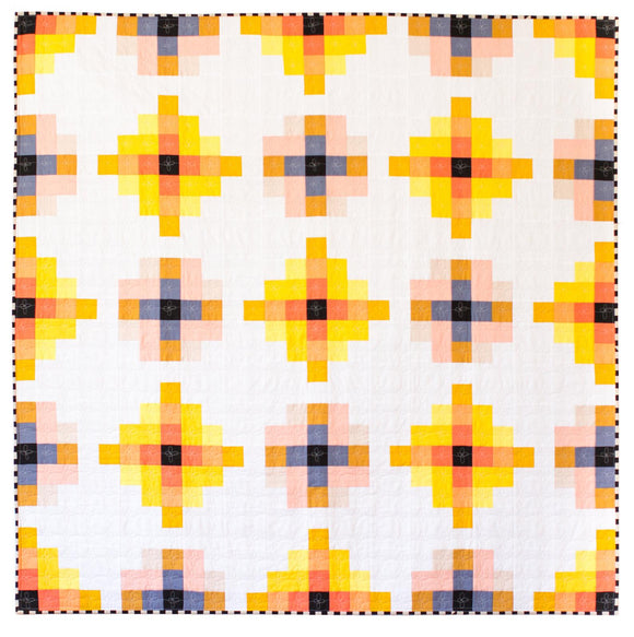 Granny Cabin Quilt Paper Pattern