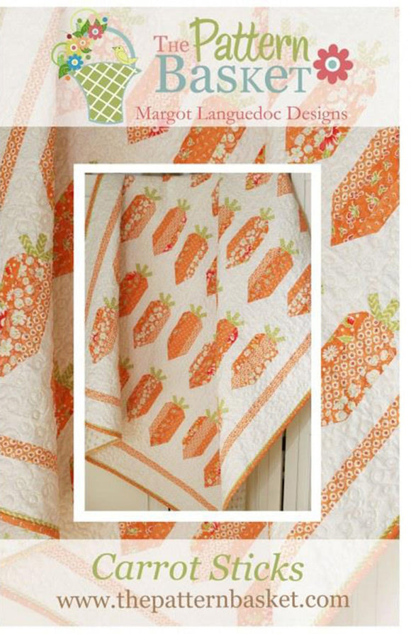 Carrot Sticks Pattern by The Pattern Basket