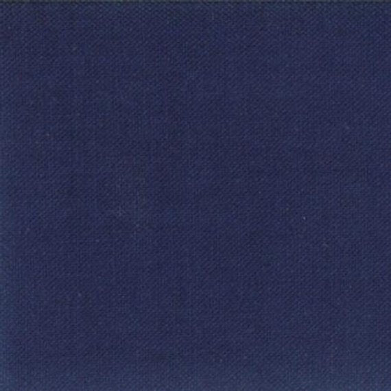 Bella Solids Nautical Blue Yardage by Moda 9900-236- PRICE PER 1/2 YARD