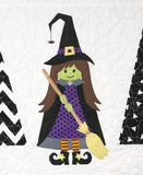Little Witch in the Trees Quilt Kit