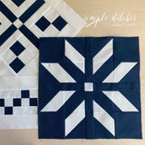 Winterberry Quilt Kit - Navy