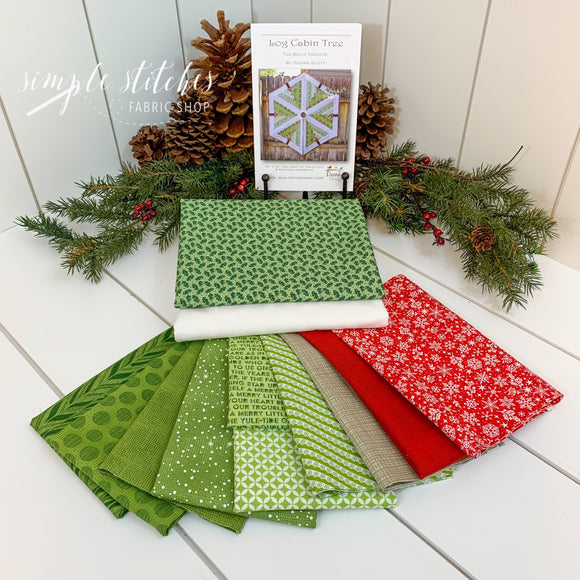 Log Cabin Tree Skirt Kit