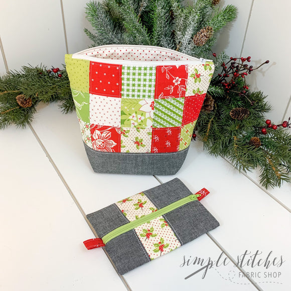 Christmas Project Bag Set - Made by Myra