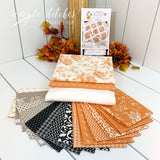 Sunflower Seeds Quilt Kit - Orange