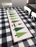 Santa in the Trees Table Runner Kit