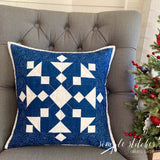 Snowflake Pillow Kit