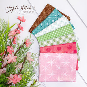 Let's Talk Spring - Hands On Design - Simple Bundle (7) Fat Quarter Bundle #1