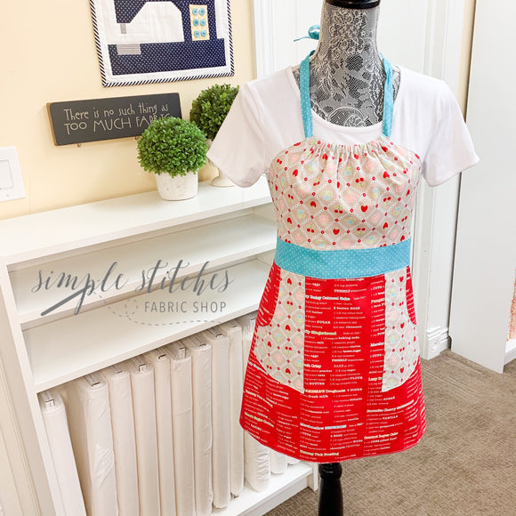 Child's Baking Lined Apron - Made by Janette