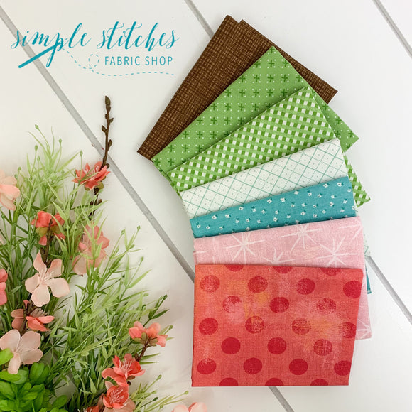 Let's Talk Spring - Hands On Design - Simple Bundle (7) Fat Quarter Bundle #3
