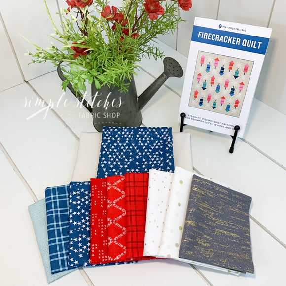 Firecracker Quilt Kit