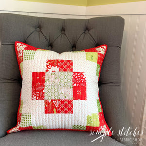 Mini Charm Trio Pillow - Made by Myra