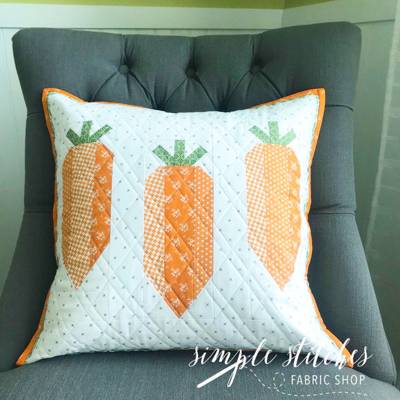 Carrot Sticks Pillow Kit
