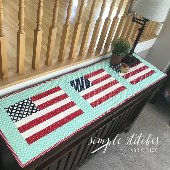 Stars and Stripes Table Runner Kit
