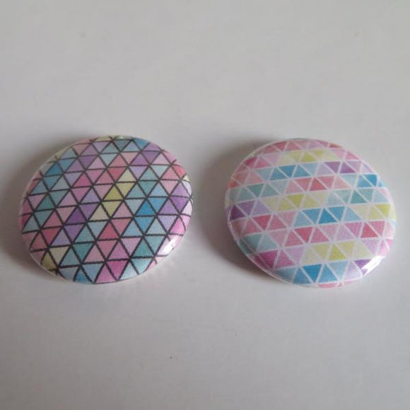Lot de 2 badges