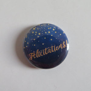 "Badge ""Félicitations"""