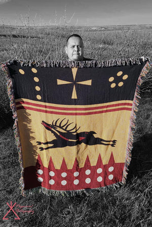 Blackfeet Artist Releases New Blanket!