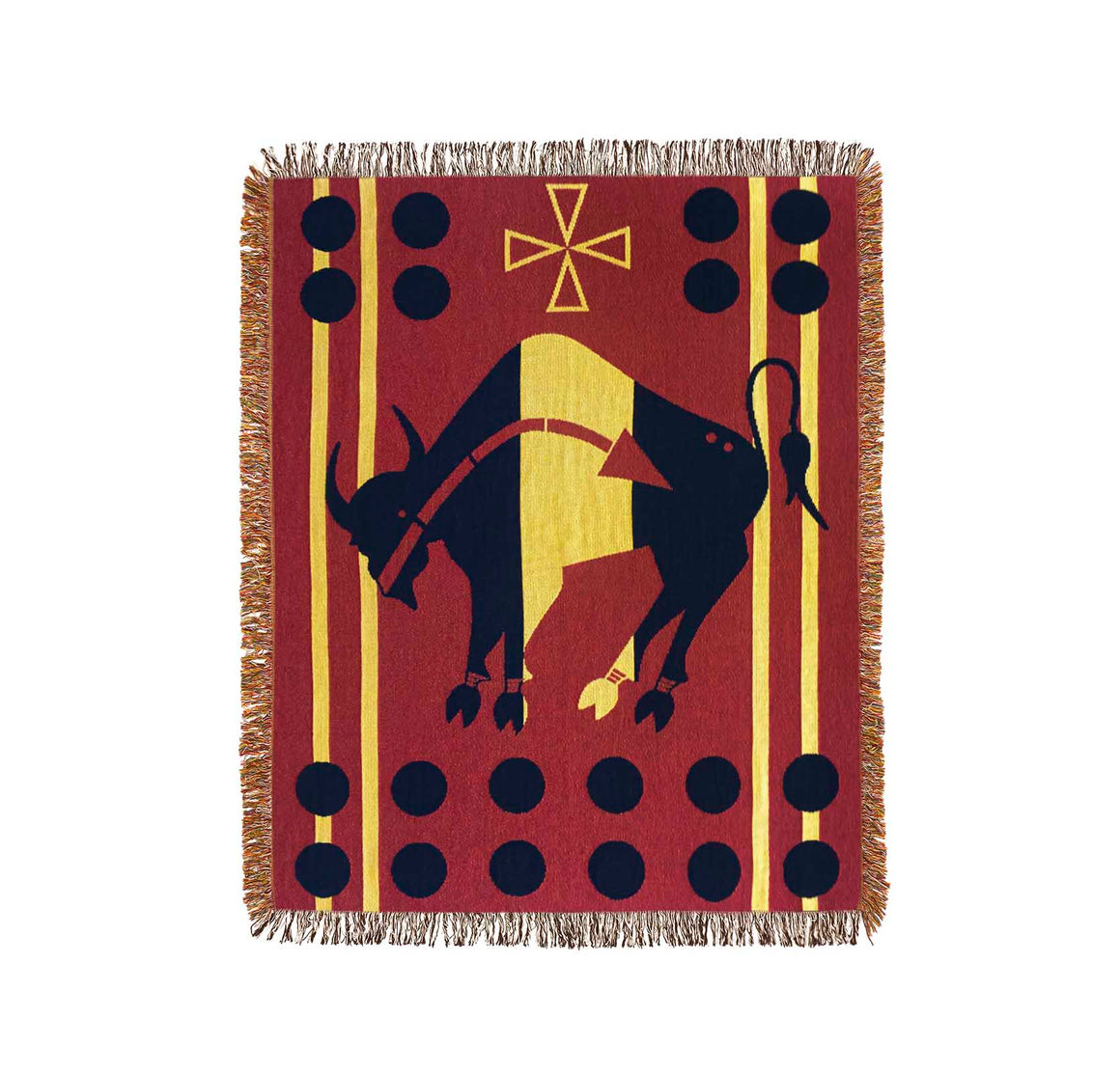Buffalo Medicine Throw Blanket