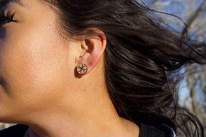Morning Star Earrings (posts)