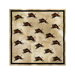 Silk Buffalo Scarf