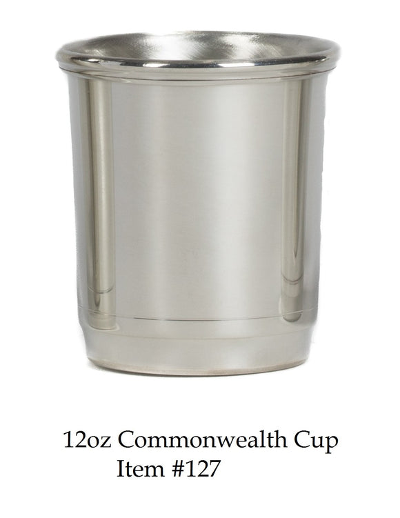 Commonwealth 12 oz Cup Item #127 - 3 7/8
