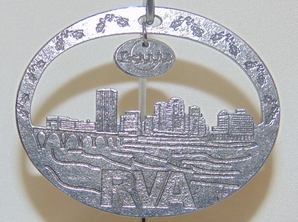 2019 Pewter Christmas Ornament