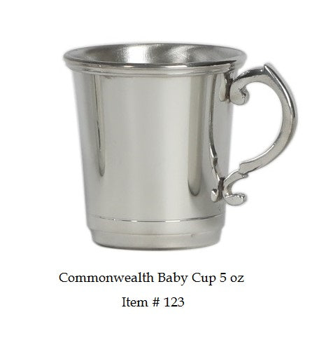 Commonwealth 5 oz Baby Cup Item #123 - 2 7/8
