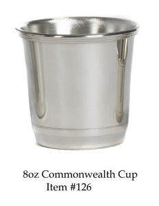 Commonwealth 8 oz Cup Item #126